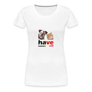 Dog & Cat - Women's Premium T-Shirt