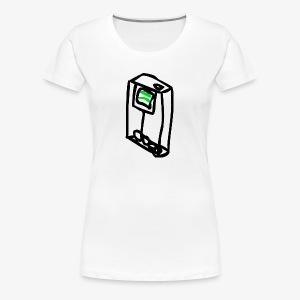 Mint Drops - Women's Premium T-Shirt