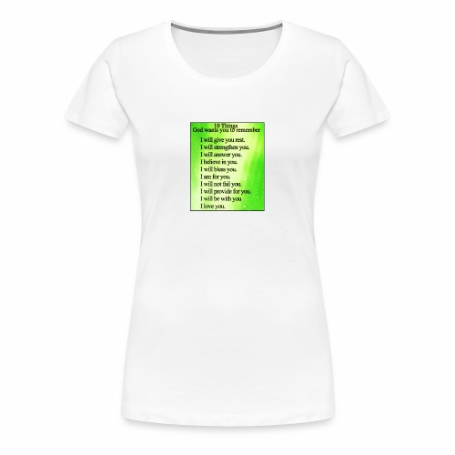 Godly - Women's Premium T-Shirt