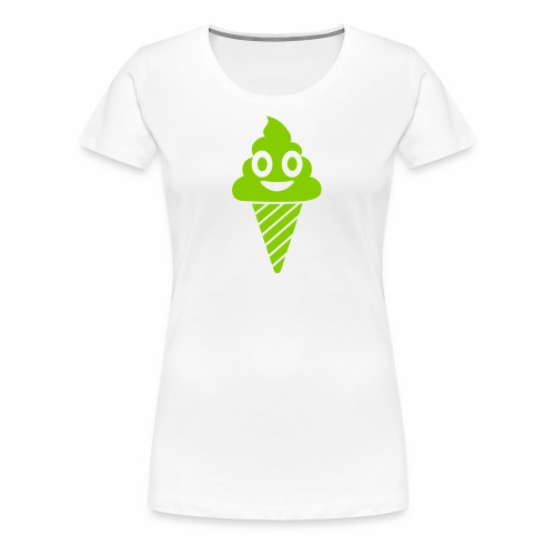 Smiling Ice Cream - Women's Premium T-Shirt