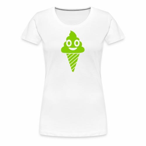 Smiling Ice Cream - Women's Premium T-Shirt