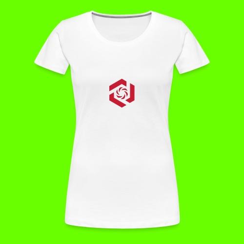 Temporary Logo Design - Women's Premium T-Shirt