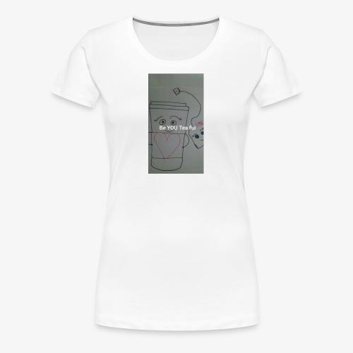 BeYOUTeaFul - Women's Premium T-Shirt