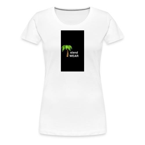 Black IslandWEAR tree logo - Women's Premium T-Shirt