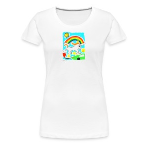 Unicorns are Magical Creatures The Make Electricit - Women's Premium T-Shirt
