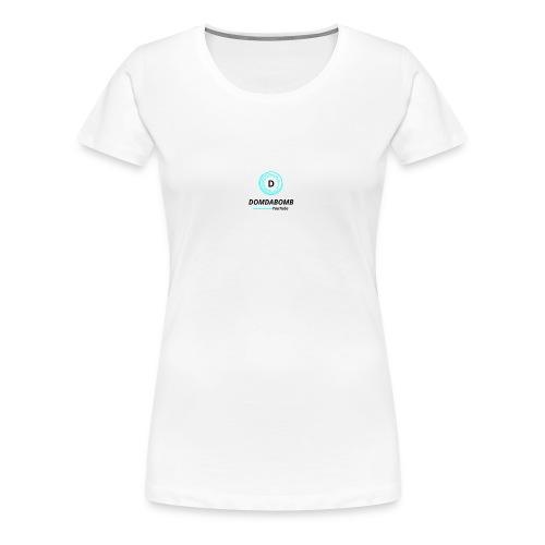 Lit DomDaBomb Logo For WHITE or Light COLORS Only - Women's Premium T-Shirt
