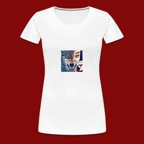 Beast & Beauty - Women's Premium T-Shirt