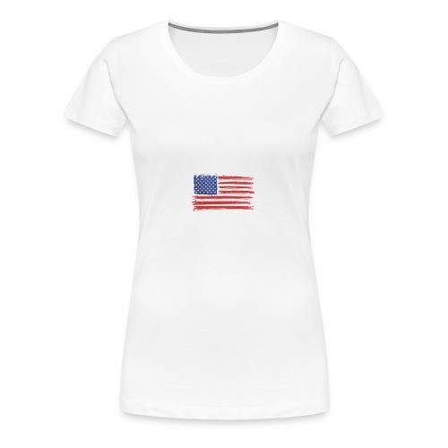 The American - Women's Premium T-Shirt