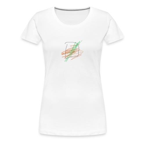 chancla icetea - Women's Premium T-Shirt