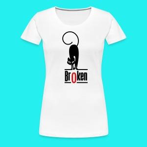 Br0ken Logo - Women's Premium T-Shirt