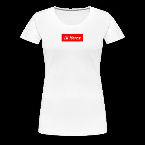 Lil Hernz Box Logo - Women's Premium T-Shirt