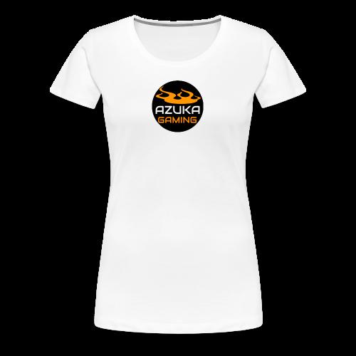 AZUKA logo - Women's Premium T-Shirt