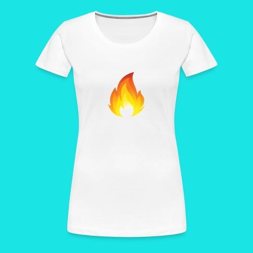 Heated Podcast - Women's Premium T-Shirt
