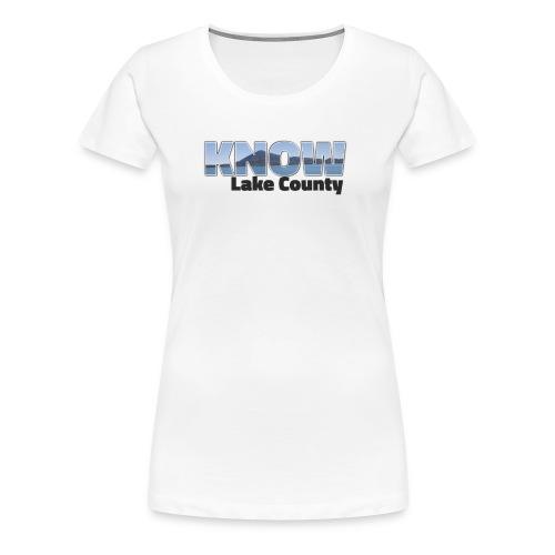 Know Lake County - Women's Premium T-Shirt