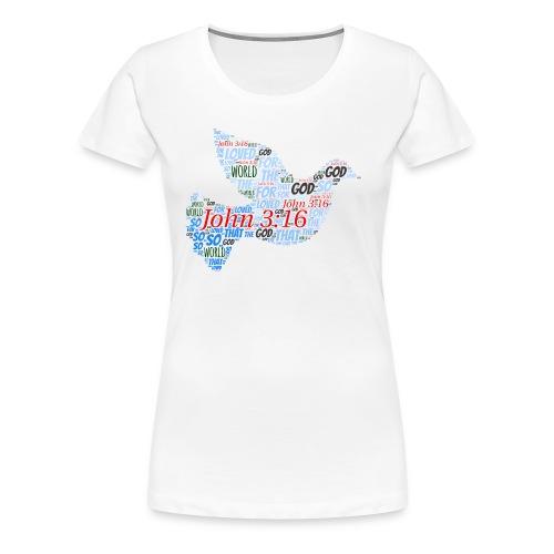John3 16 - Women's Premium T-Shirt