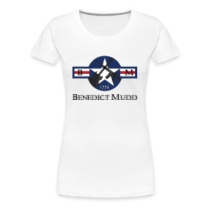 Benedict Mudd AR/Gibson SG - Women's Premium T-Shirt
