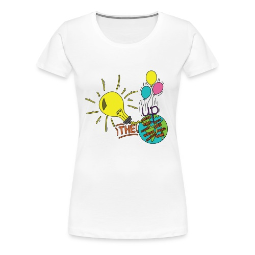 Light Up The World - Women's Premium T-Shirt