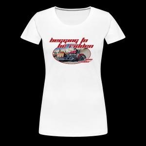 Begging to be Ridden - Women's Premium T-Shirt