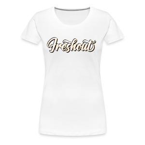FRESHout Bubble Logo - Women's Premium T-Shirt