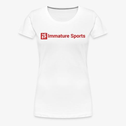 Extended Logo - Women's Premium T-Shirt
