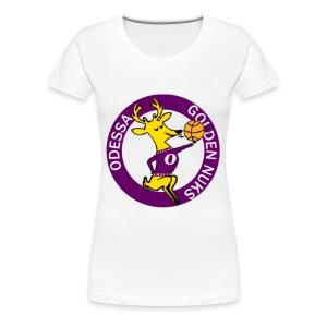 Odessa Golden Nuks - Women's Premium T-Shirt