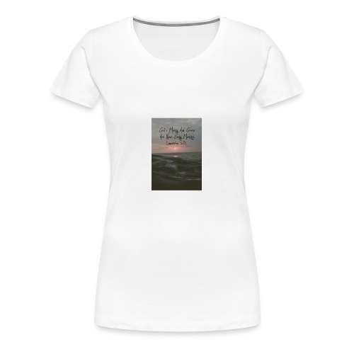 gods grace - Women's Premium T-Shirt
