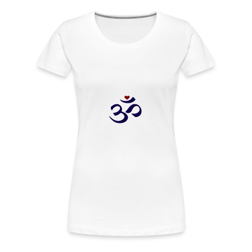 Om Peace - Women's Premium T-Shirt