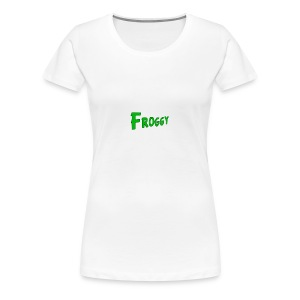 FROGGY - Women's Premium T-Shirt