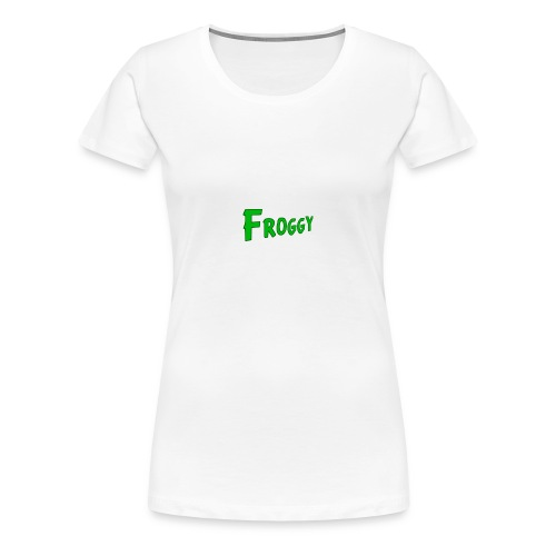 FROGGY - Women's Premium T-Shirt