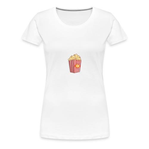 Popcorn - Women's Premium T-Shirt