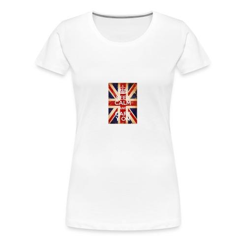 Keep Calm Generator 1508700308451 - Women's Premium T-Shirt