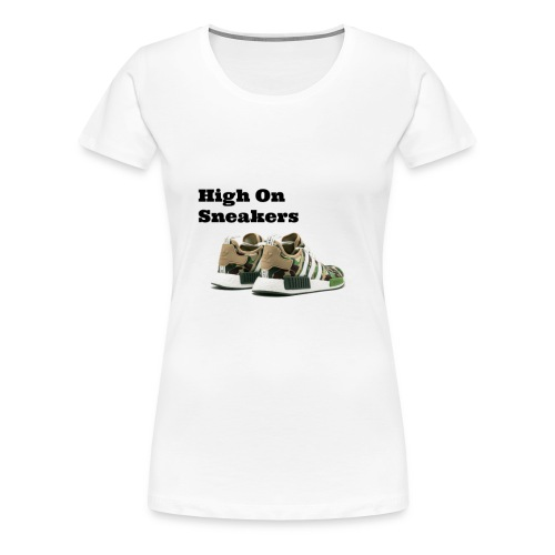 High On Sneakers - Women's Premium T-Shirt