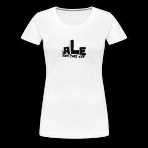 AirLines Entertainment - Women's Premium T-Shirt