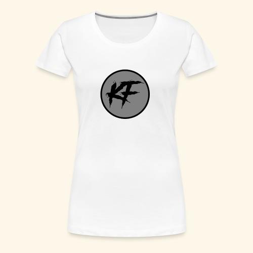 KF-Circle Logo - Women's Premium T-Shirt
