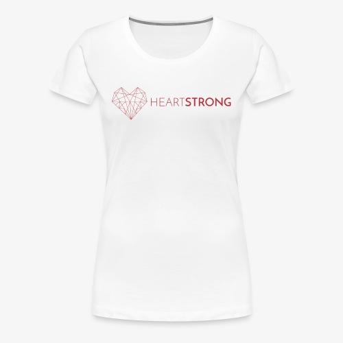 heartstong Horizontal 1 - Women's Premium T-Shirt