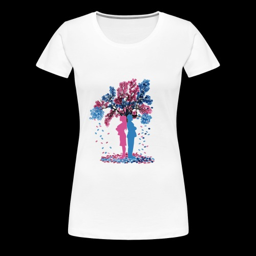 Social media - Women's Premium T-Shirt