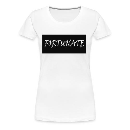 FortunateLogo - Women's Premium T-Shirt