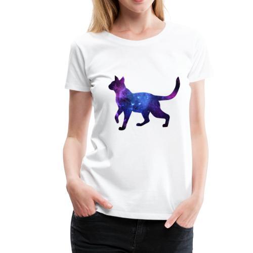 Space Cat - Women's Premium T-Shirt