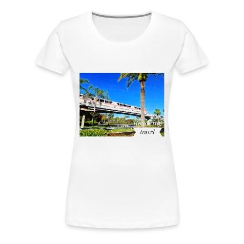 speed of rail - Women's Premium T-Shirt