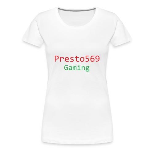 Presto569 Gaming - Women's Premium T-Shirt