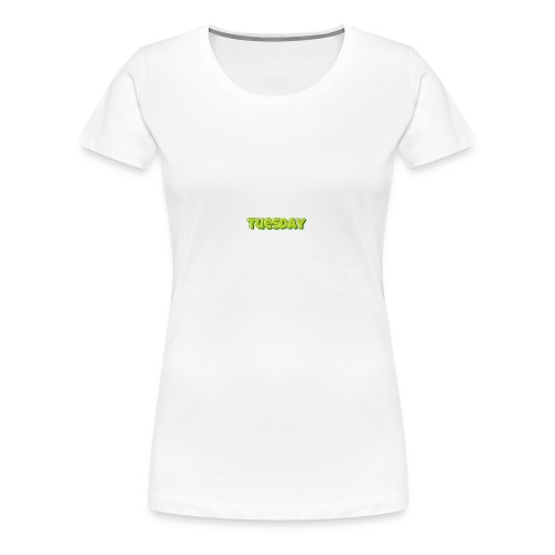 Tuesday designstyle summer m - Women's Premium T-Shirt