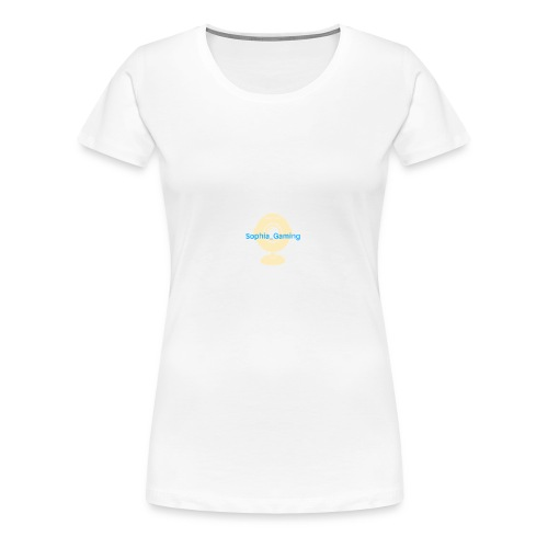 Sophia Gaming - Women's Premium T-Shirt