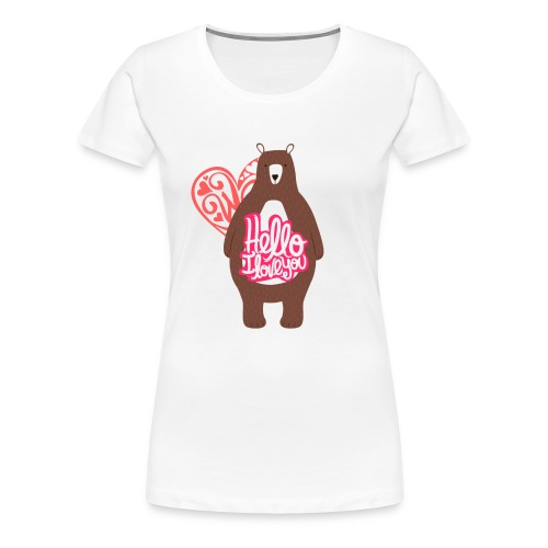 teddy bear - Women's Premium T-Shirt