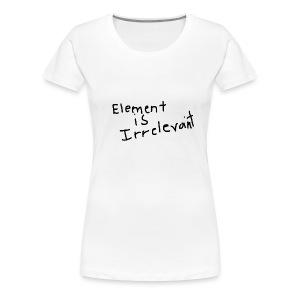 The Truth V2 - Women's Premium T-Shirt