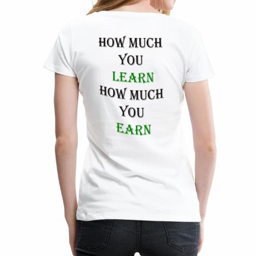 T-Shirt Back To school Motivation Back To School - Women's Premium T-Shirt