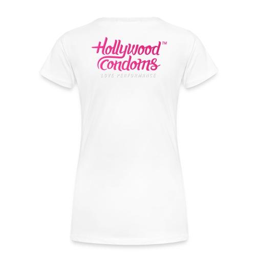 Hollywood Condoms™ - Love Performance - Women's Premium T-Shirt