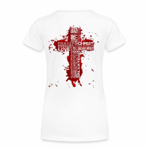 Jesus2thacitycross White - Women's Premium T-Shirt