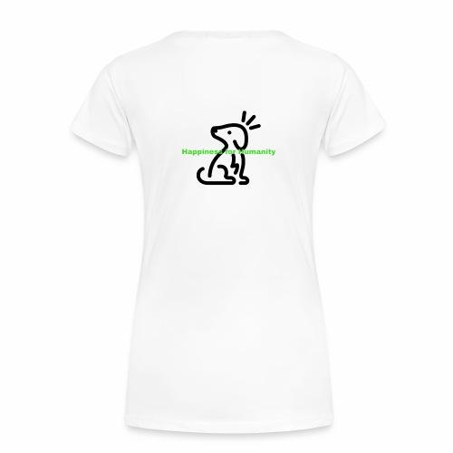 Happiness for Humanity - Women's Premium T-Shirt