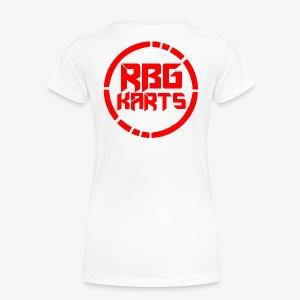 Back Shirt Logo - Women's Premium T-Shirt
