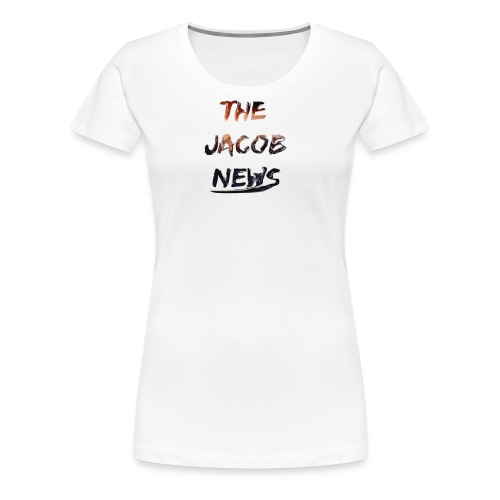 jacob news - Women's Premium T-Shirt